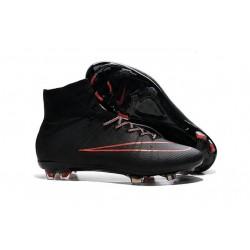 Nike Scarpa da Calcio Nuovo Mercurial Superfly FG Cristiano Ronaldo Nero Rosso