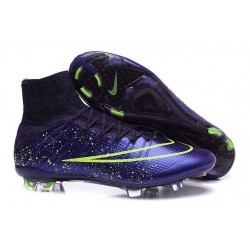 Nuove Scarpe Calcio Nike Mercurial Superfly Iv CR7 FG Power Clash Viola