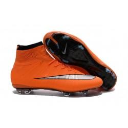 Scarpini da Calcio Nike Mercurial Superfly FG ACC Arancio Metallico