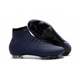 Scarpette da Calcio Uomo Nike Mercurial Superfly FG ACC Profondo Blu