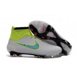 Nike Magista Obra Tech FG Nuove Scarpe Calcio-Bianco Volt