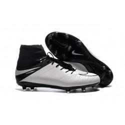 Scarpe da Calcio 2016 Nike Hypervenom Phantom 2 FG Uomo Pelle Bianco Nero