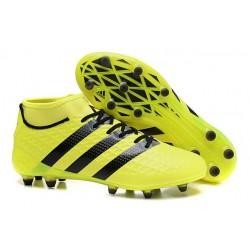 adidas Scarpe da Calcio ACE 16.1 Primeknit FG/AG Con Tacchetti Giallo Nero