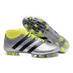 adidas Scarpe da Calcio ACE 16.1 Primeknit FG/AG Con Tacchetti Metallico Nero