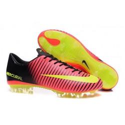 Scarpe da Calcio Nuovo 2016 Nike Mercurial Vapor XI FG ACC Rosso Giallo