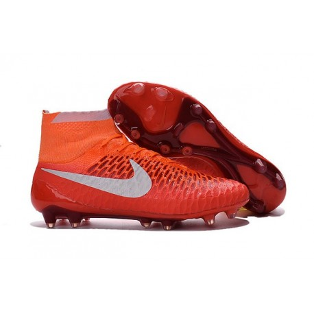Nike Magista Obra Tech FG Nuove Scarpe Calcio- Rosa Bianco