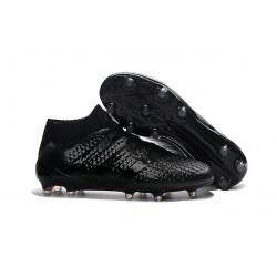 adidas Scarpe da Calcio ACE 16.1 Primeknit FG/AG Con Tacchetti Tutto Nero