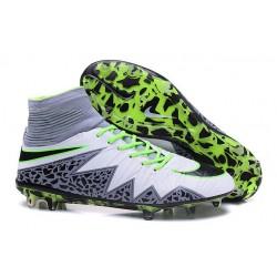 Scarpe da Calcio 2016 Nike Hypervenom Phantom 2 FG Uomo Bianco Nero Verde