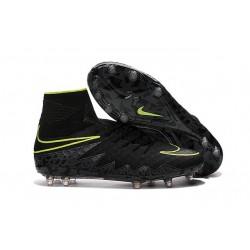 Scarpe da Calcio 2016 Nike Hypervenom Phantom 2 FG Uomo Nero Verde