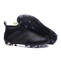 Nuovo Scarpe da Calcio 2016 adidas ACE16+ Pure Control FG Nero Giallo