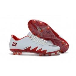 Nike Scarpe Hypervenom Phinish Neymar x Jordan NJR FG Bianco Rosso