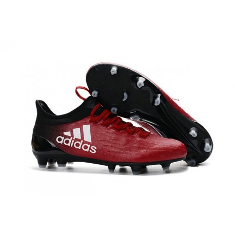 Scarpe da Calcio Adidas X 16.1 FG Rosso Bianco