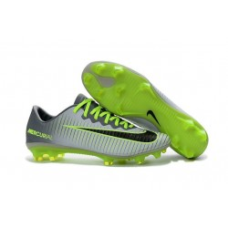 Nike Mercurial Vapor 11 FG Scarpini da Calcio Grigio Nero Verde