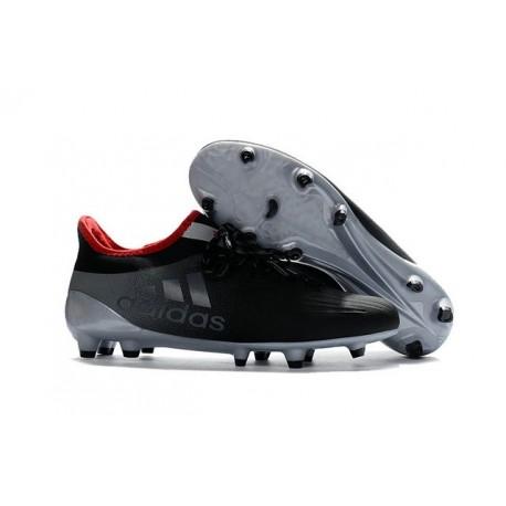 Scarpe da Calcio Adidas X 16.1 FG Nero Grigio