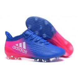 Scarpe da Calcio Adidas X 16.1 FG Blu Rosa