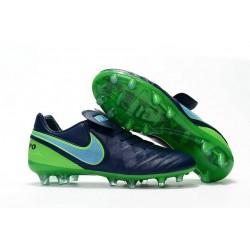 Nike Tiempo Legend 6 FG ACC Scarpini da Calcio Uomo Nero Verde