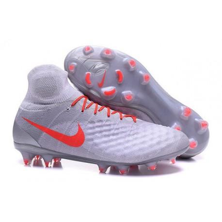 Nike Magista Obra 2 FG Nuove Scarpe da Calcio Bianco Rosso