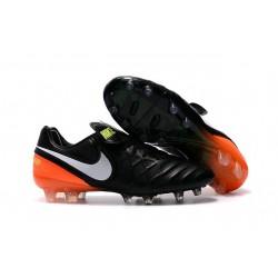 Scarpa Calcio Canguro Nike Tiempo Legend VI FG Nero Arancio