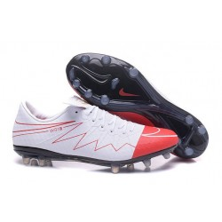 Nike Rooney Hypervenom Phinish II FG Scarpe Calcio Bianco Rosso