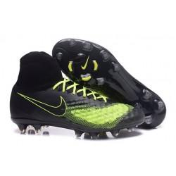 Nike Uomo Scarpa Calcio Magista Obra II FG Nero Giallo