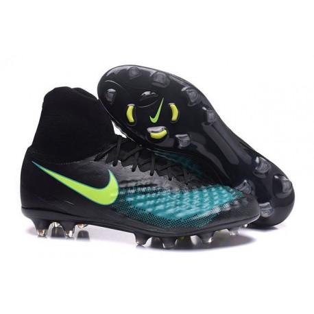 Nike Uomo Scarpa Calcio Magista Obra II FG Nero Blu