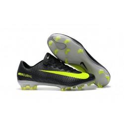 Nike Mercurial Vapor 11 CR7 FG Scarpini da Calcio Nero Giallo