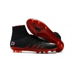 Scarpe Neymar X Jordan NJR Nike Hypervenom Phantom II FG - Nero Rosso