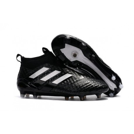 adidas ACE17+ PureControl FG Uomo Scarpe Calcio Nero Bianco
