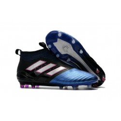 adidas ACE17+ PureControl FG Uomo Scarpe Calcio Nero Bianco Blu