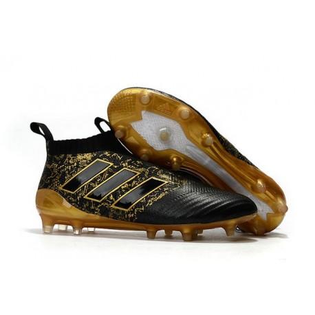 adidas ACE17+ PureControl FG Paul Pogba Capsule Oro Nero Scarpe Calcio