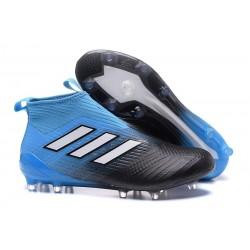 adidas ACE17+ PureControl FG Uomo Scarpe Calcio Blu Nero