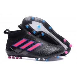 adidas ACE17+ PureControl FG Uomo Scarpe Calcio Nero Rosa