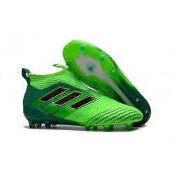adidas ACE17+ PureControl PRIMEKNIT FG Scarpe - Verde Nero