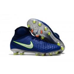Scarpe Nuovo 2017 Nike Magista Obra II FG - Blu