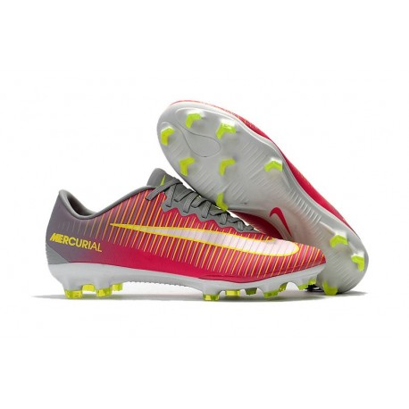 Nike Mercurial Vapor XI FG - scarpa calcio uomo - rosa bianco grigio