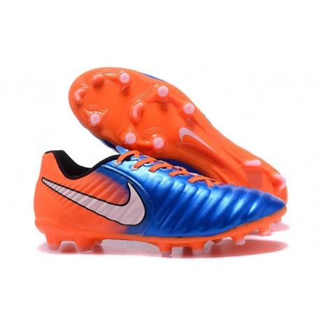 Nike Tiempo Legend 7 FG Scarpa Canguro - Arancio Blu