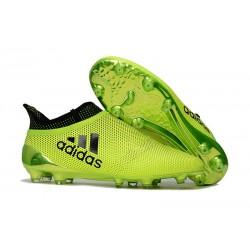Scarpe da Calcio Uomo adidas Adidas X 17+ Purespeed FG - Verde