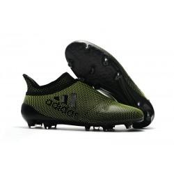 Scarpe da Calcio Uomo adidas Adidas X 17+ Purespeed FG - Ciano