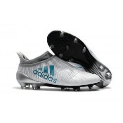 Scarpe da Calcio Uomo adidas Adidas X 17+ Purespeed FG - Bianco