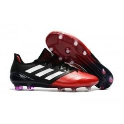 adidas Ace 17.1 FG Scarpa Calcio Nuovo - Nero Rosso Bianco
