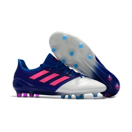 adidas Ace 17.1 FG Scarpa Calcio Nuovo - Blu Rosa Bianco