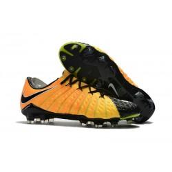 Scarpe Calcio Nuove Nike HyperVenom Phantom 3 FG Jaune Noir