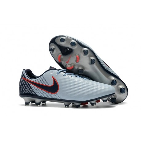 Scarpe da Calcio Nike Magista Opus II FG ACC Grigio