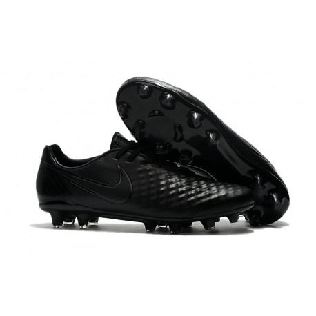 Scarpe da Calcio Nike Magista Opus II FG ACC Tutto Nero
