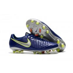 Scarpe da Calcio Nike Magista Opus II FG ACC Blu Metallico