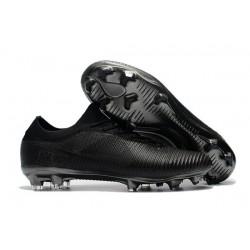Scarpe da Calcio Nike Mercurial Vapor Flyknit Ultra FG - Tutto Nero