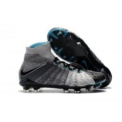 Scarpa Nike Hypervenom Phantom 3 Dynamic Fit FG - Grigio Nero