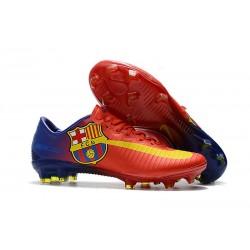 Nike Mercurial Vapor XI FG Nuovo Scarpa da Calcio - Barcelona Rosso