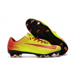 Nike Mercurial Vapor XI FG Nuovo Scarpa da Calcio - Giallo Rosso