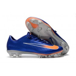 Nike Mercurial Vapor XI FG Nuovo Scarpa da Calcio - Blu Arancio